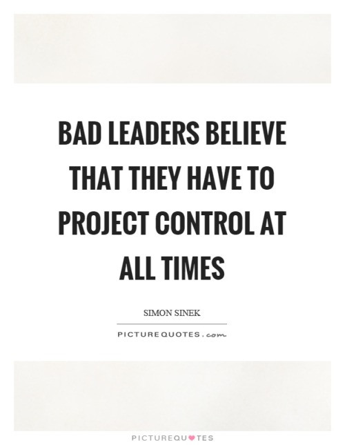 Poor Leadership Quote  leadership quotes