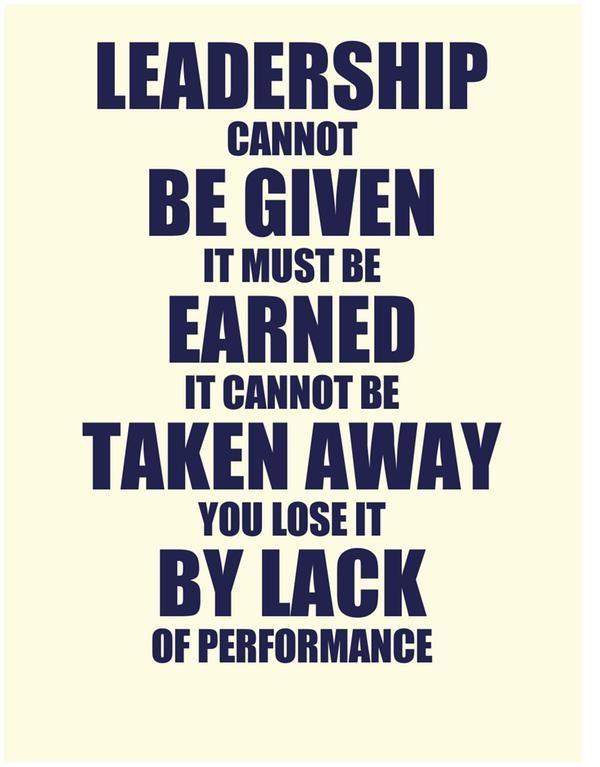 Poor Leadership Quote  Poor Leadership Quotes QuotesGram