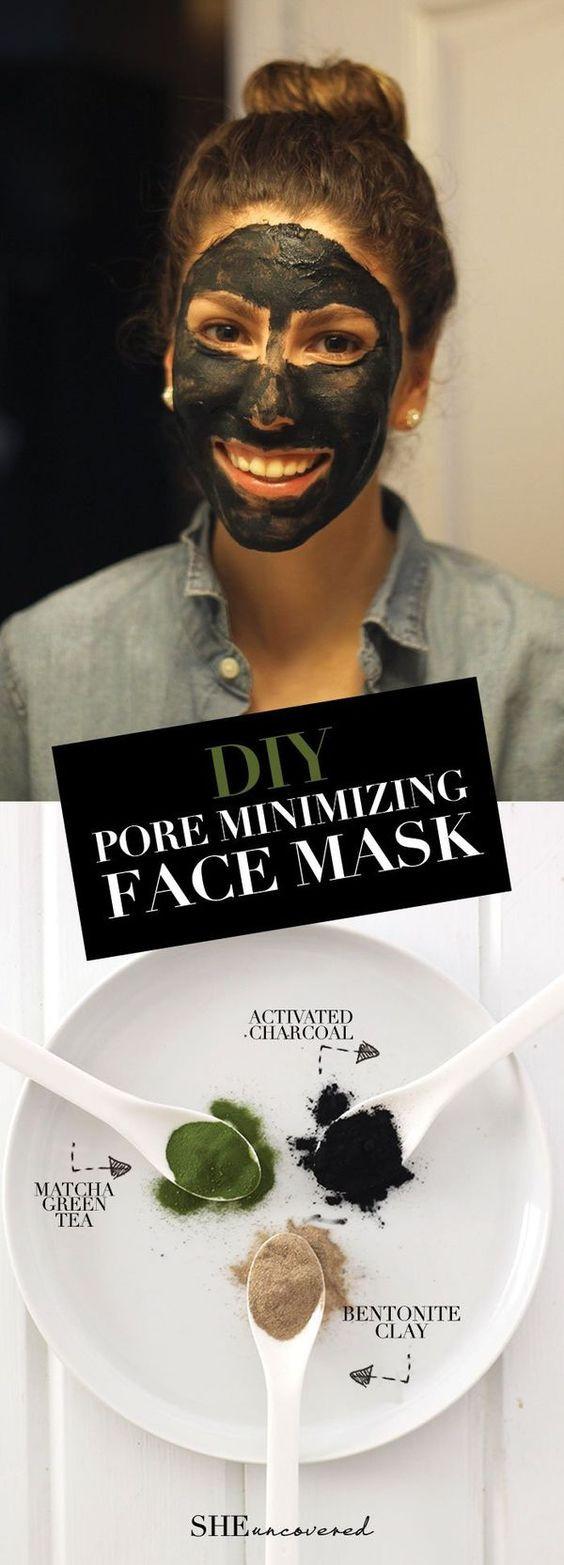 Pore Shrinking Mask DIY  DIY Pore Minimizing Face Mask made from just 3 all natural