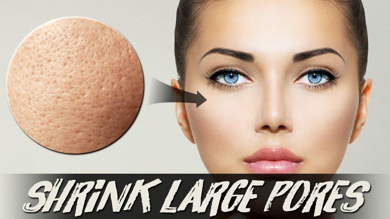 Pore Shrinking Mask DIY  Get Rid Pores Naturally