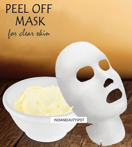 Pore Shrinking Mask DIY  Peel f Mask to Clear blackheads and shrink Pores