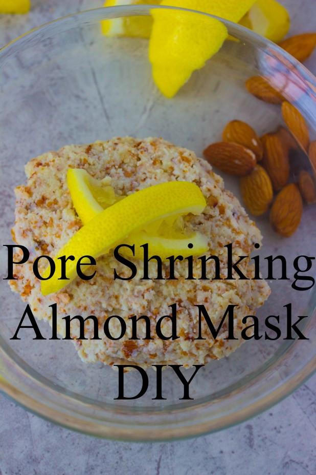 Pore Shrinking Mask DIY  Lemon Lavender Almond Mask Pore Series Savvy