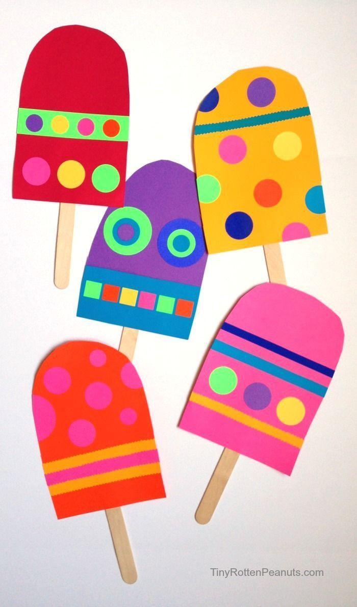 Preschool Arts And Crafts Ideas  25 best ideas about Preschool summer crafts on Pinterest