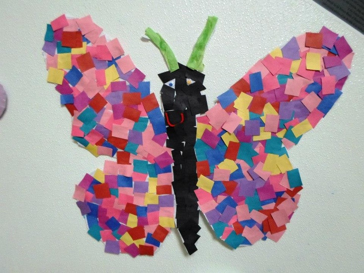 Preschool Arts And Crafts Ideas  Students at this CCLC wel ed springtime by creating a