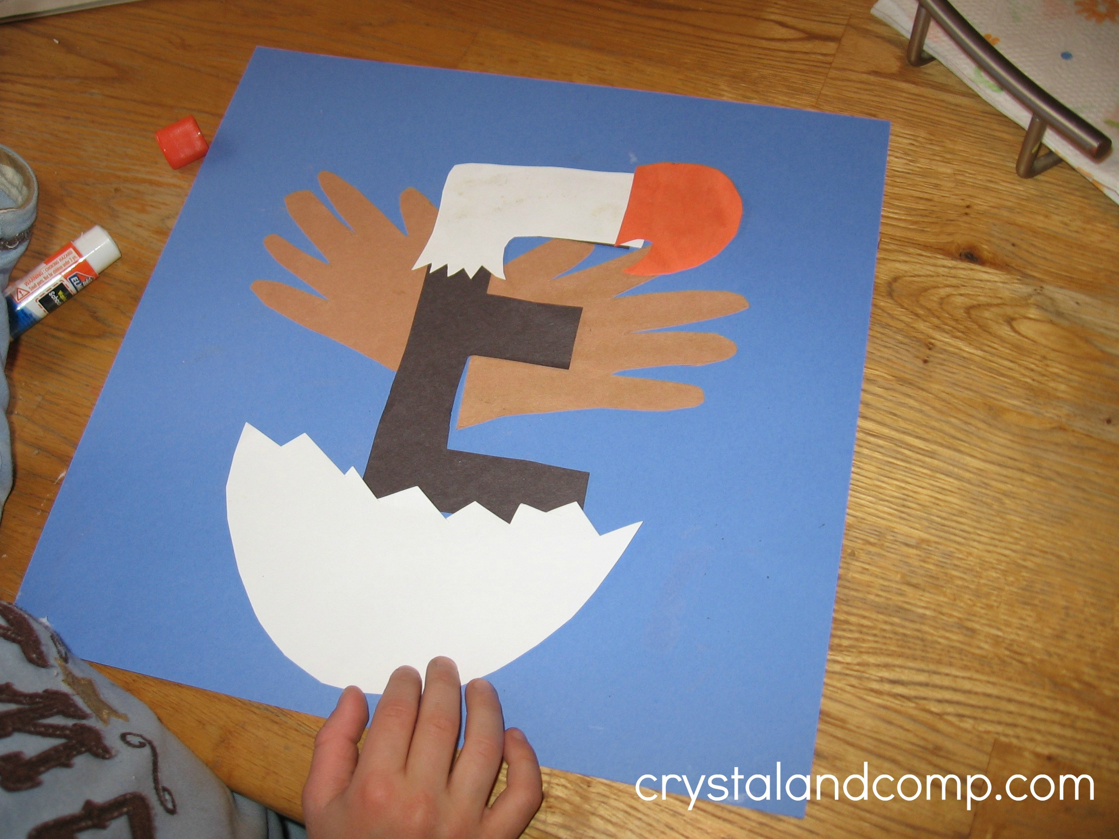 Preschool Arts Crafts  Letter of the Week A Preschool Craft for the Letter E