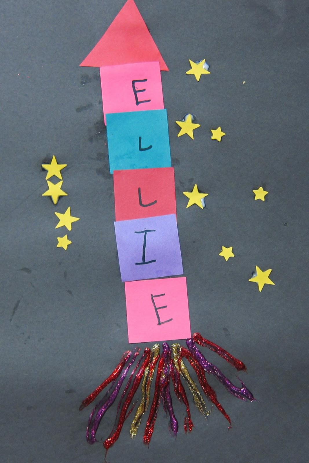 Preschool Arts Crafts  Mrs Karen s Preschool Ideas Let s Fly to the Moon or