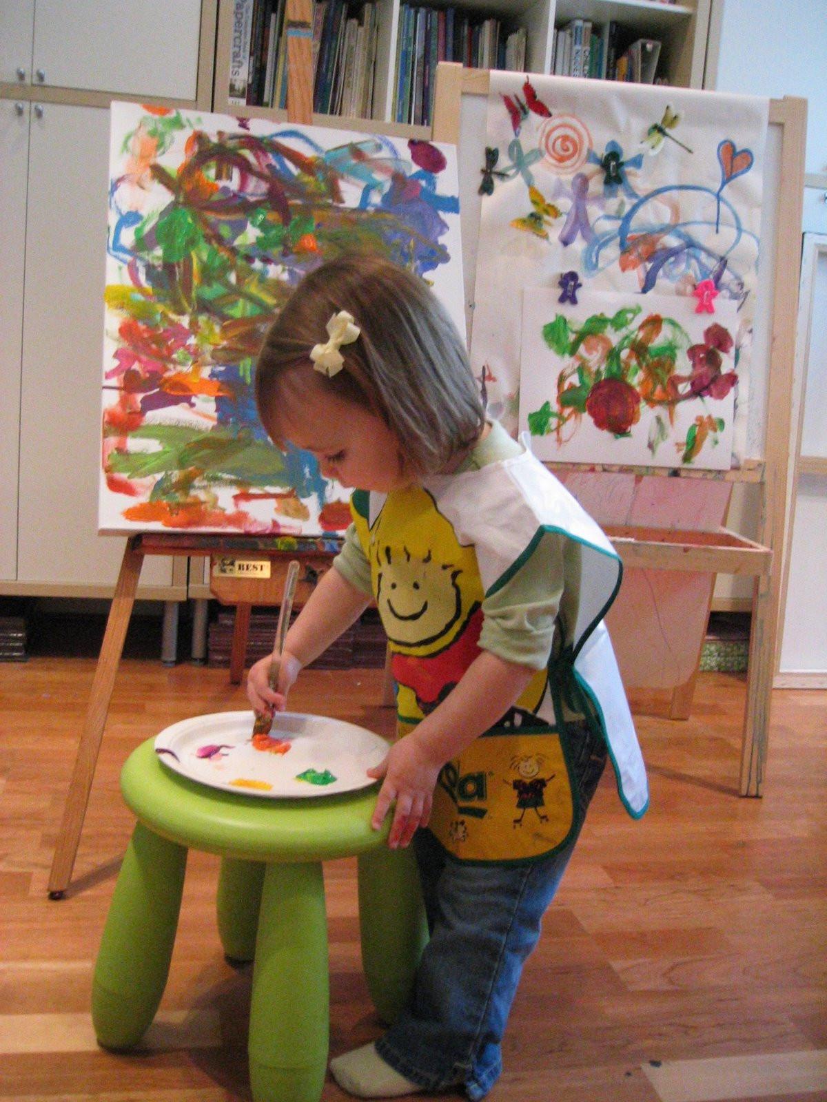 Preschool Arts Crafts  Pink and Green Mama Making Art At Home My Favorite Art