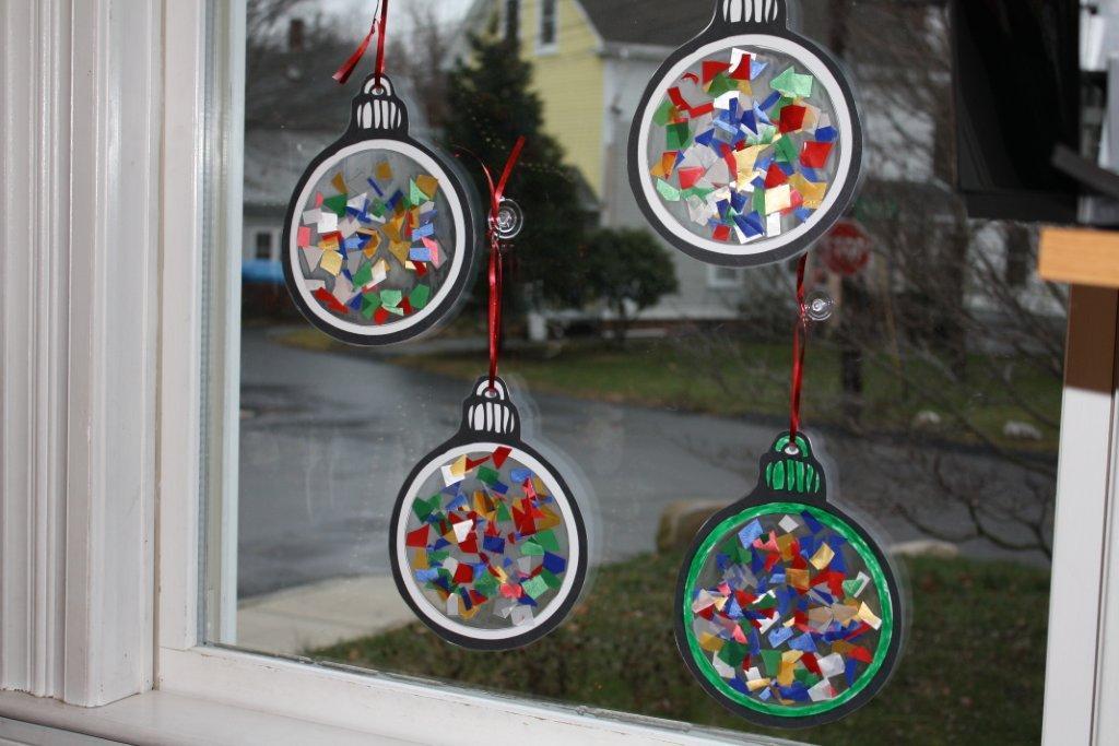 Preschool Christmas Ornament Craft Ideas  1 2 3 Learn Curriculum December 2010