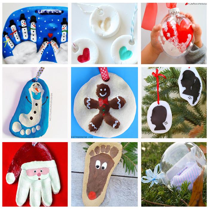 Preschool Christmas Ornament Craft Ideas  Sweetest Christmas Keepsake Ornaments for Kids