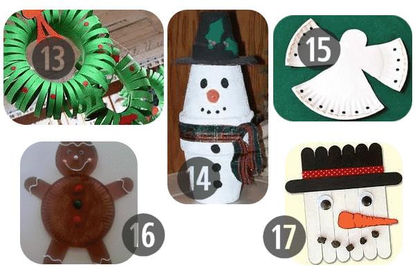 Preschool Christmas Ornament Craft Ideas  25 Preschool Christmas Crafts Kids Will Love