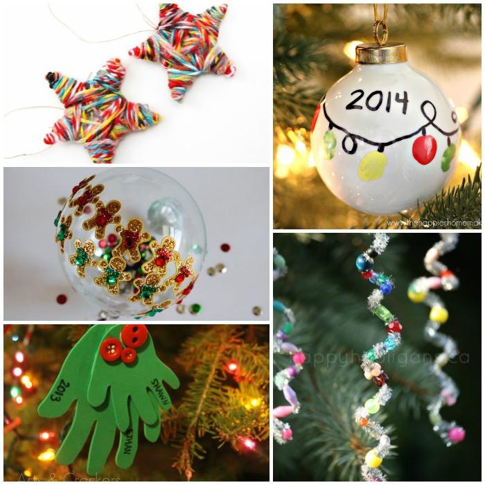 Preschool Christmas Ornament Craft Ideas  An Alphabet Christmas Ornament Crafts For Kids