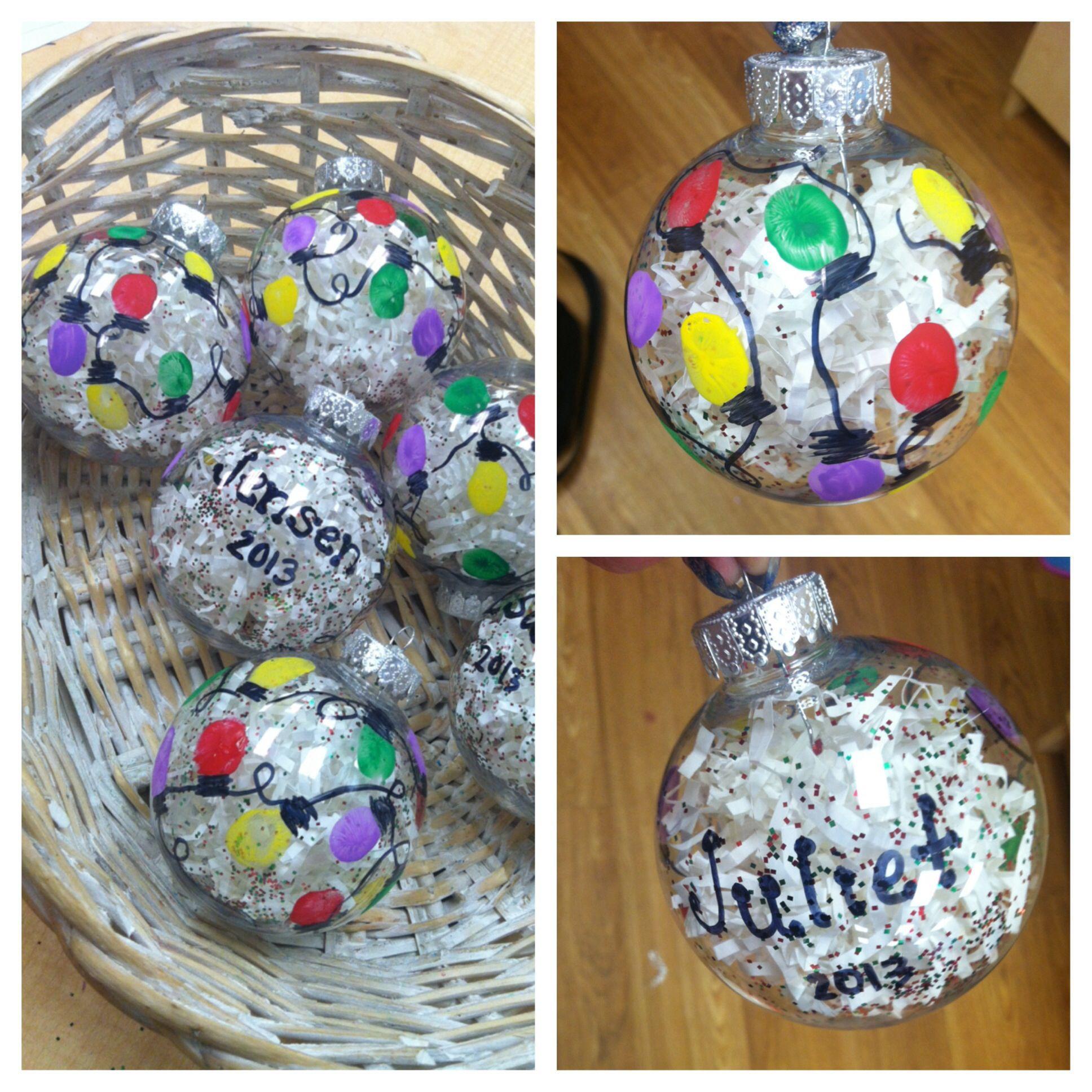 Preschool Christmas Ornament Craft Ideas  Christmas Craft Ideas