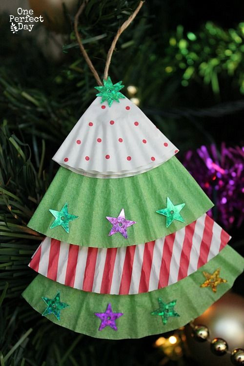 Preschool Christmas Ornament Craft Ideas  Christmas Crafts for Kids