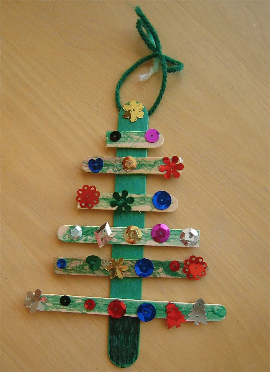 Preschool Christmas Ornament Craft Ideas  Preschool Christmas ornament