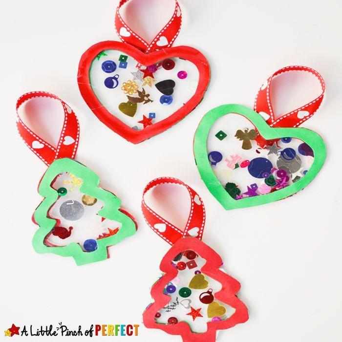 Preschool Christmas Ornament Craft Ideas  344 best CHRISTMAS ORNAMENTS images on Pinterest