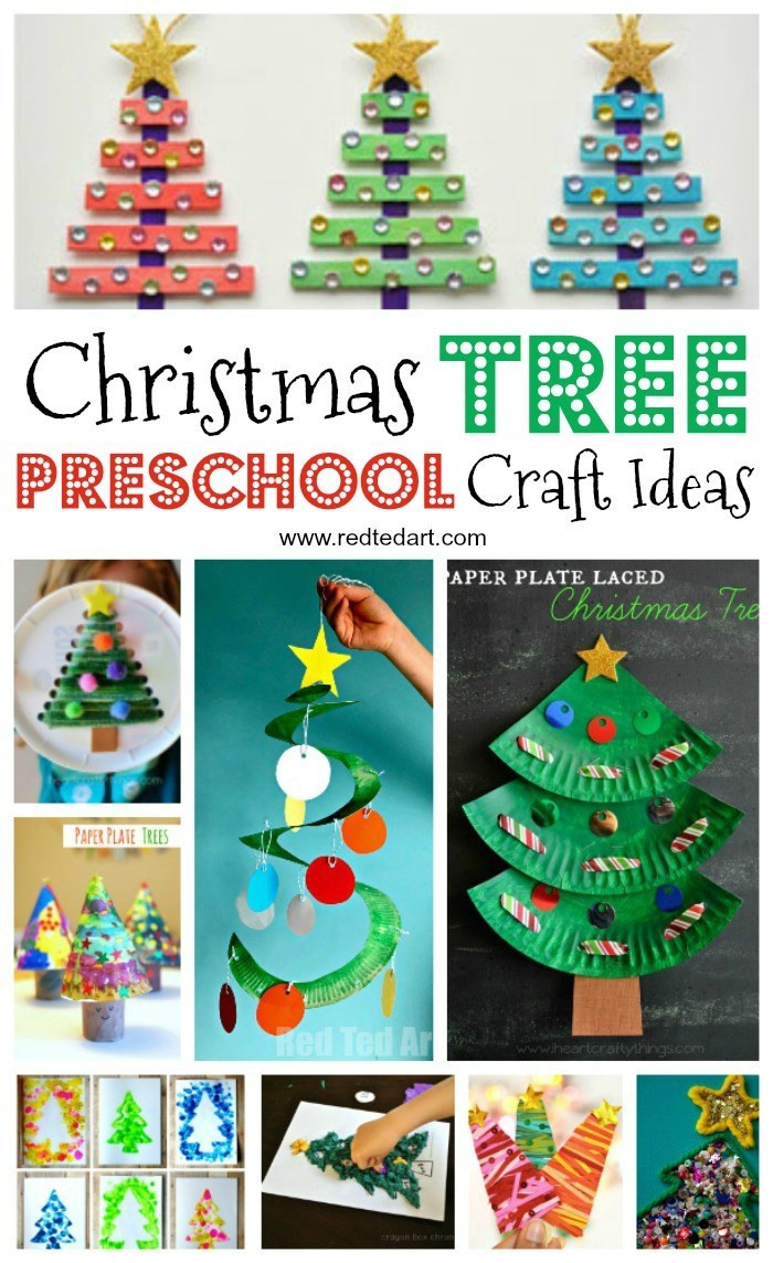Preschool Christmas Ornament Craft Ideas  Christmas Tree Decorations For Preschoolers To Make