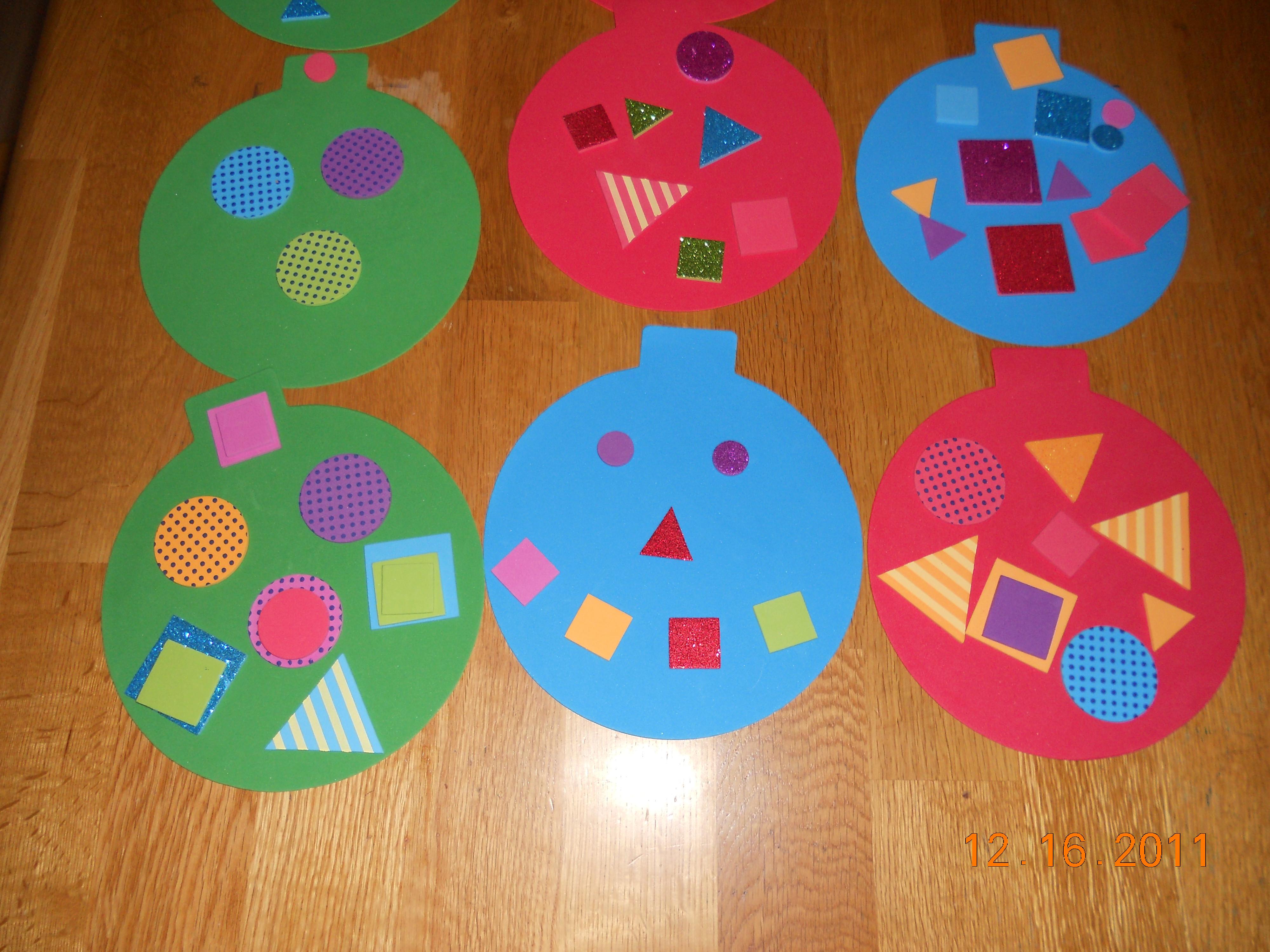 Preschool Christmas Ornament Craft Ideas  15 Fun and Easy Christmas Craft Ideas for Kids – Miss Lassy