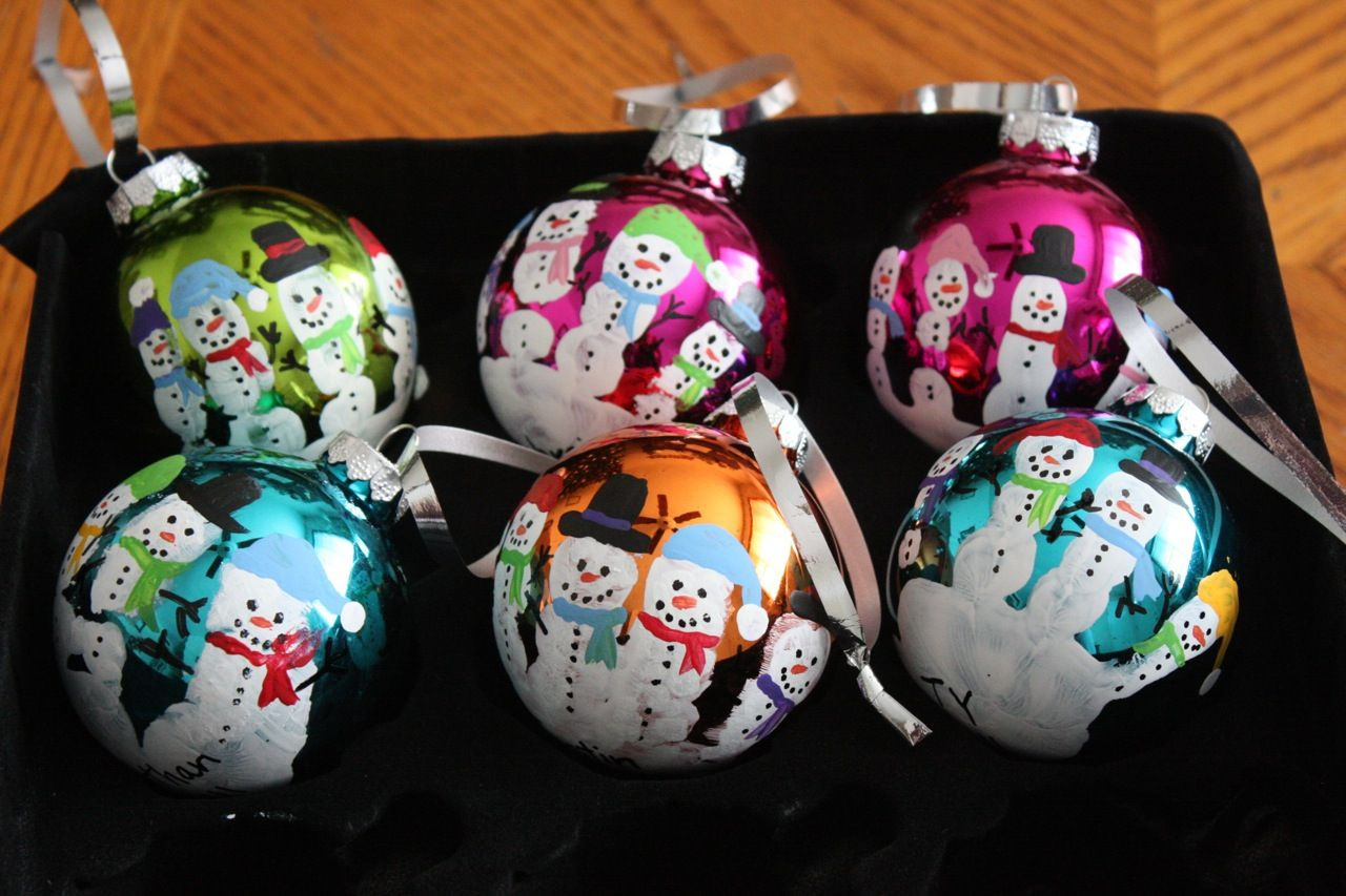 Preschool Christmas Ornament Craft Ideas  Christmas Craftiness Preschool Handprint Santas & Snowmen