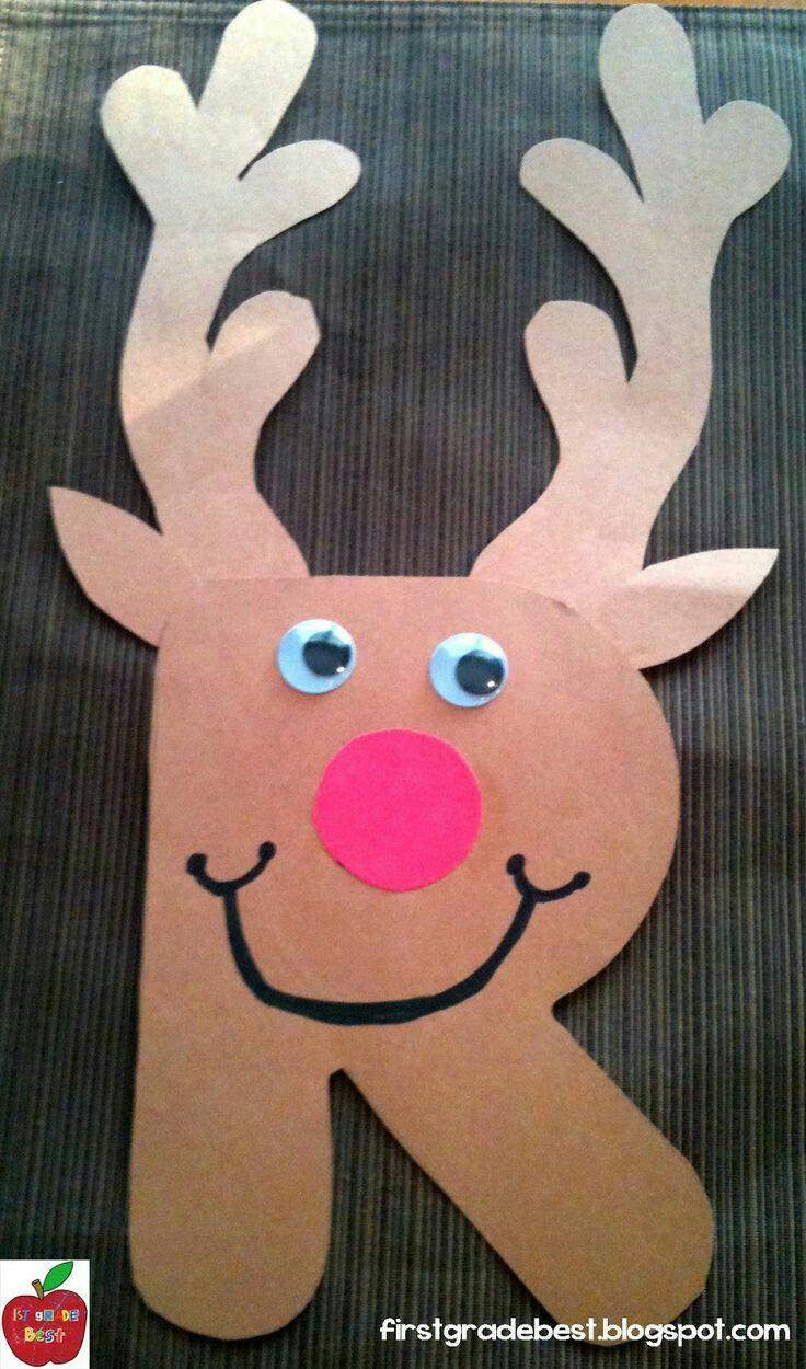 Preschool Crafts Activities  Month DecemberTitle of Activity R is for ReindeerContent