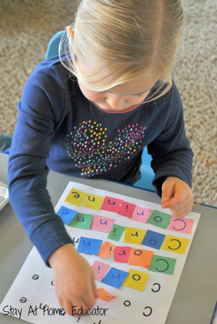Preschool Crafts Activities  Best 25 Preschool name recognition ideas on Pinterest