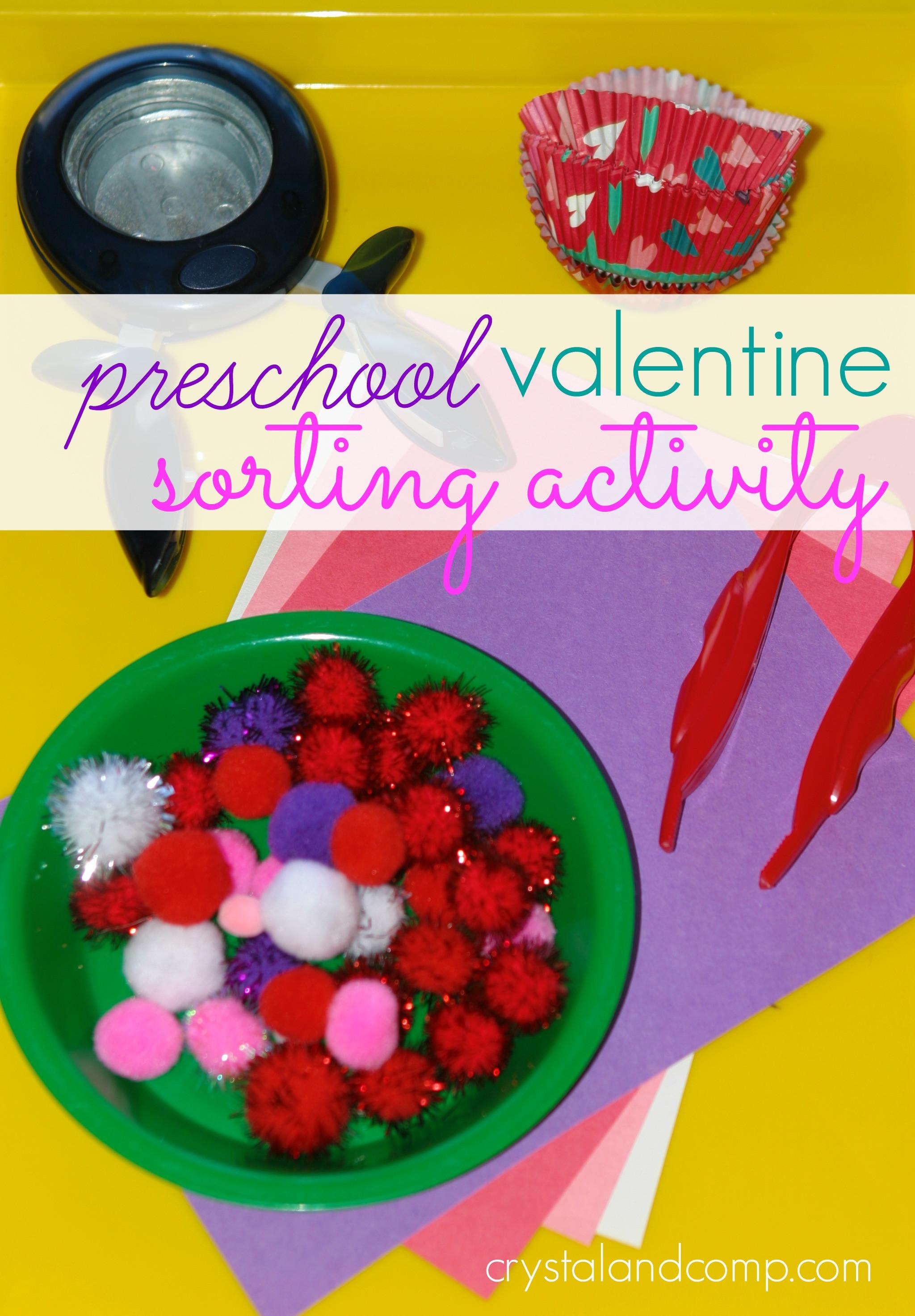 Preschool Crafts Activities  Preschool Sorting Activities