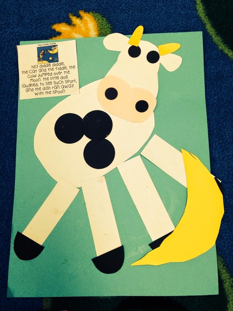 Preschool Crafts Activities  Preschool Wonders Nursery Rhymes Second Verse