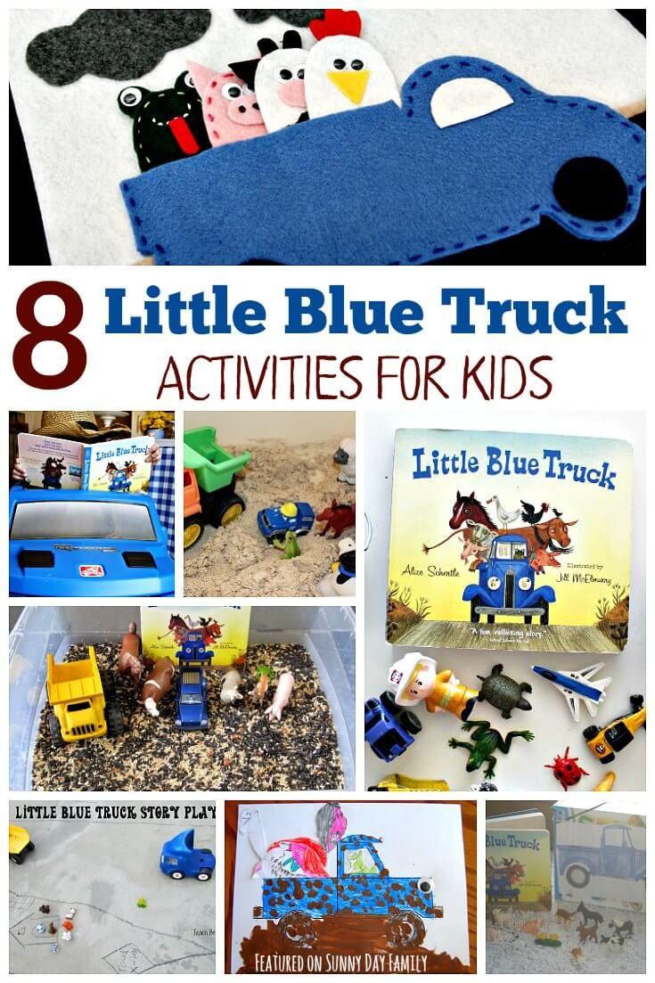 Preschool Crafts Activities  8 Little Blue Truck Activities for Preschoolers