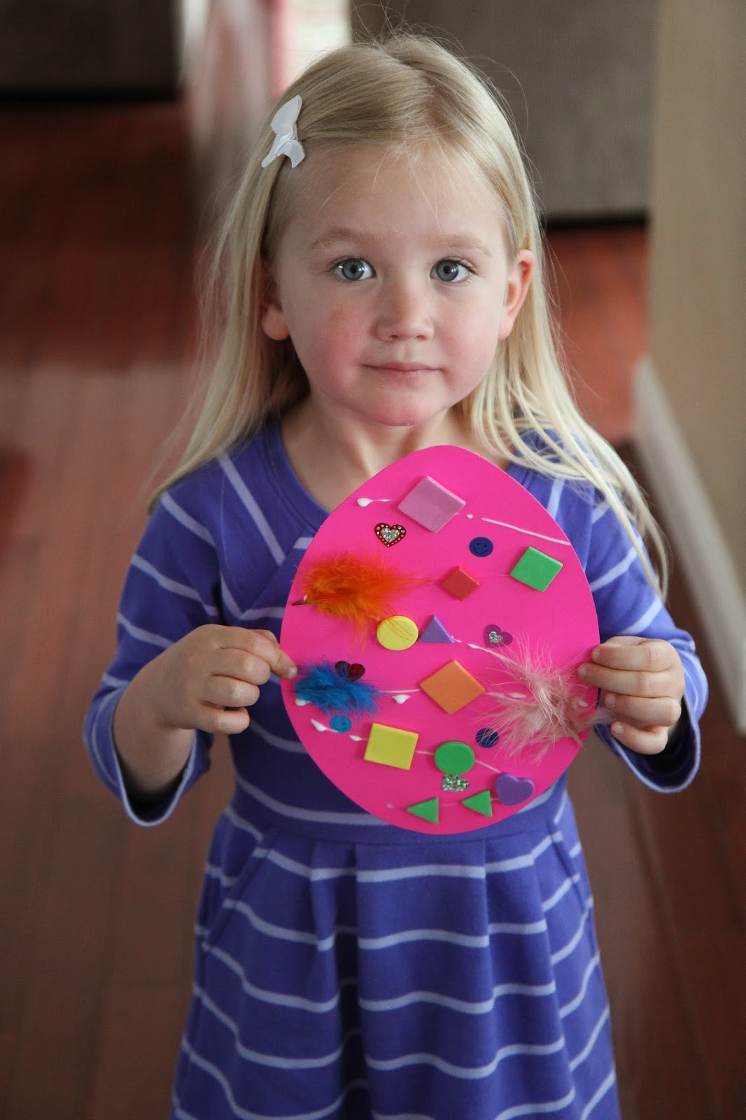 Preschool Projects Ideas  Toddler Approved Easter Egg Collage Craft for Toddlers
