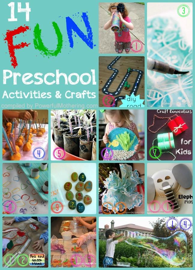 Preschool Projects Ideas  14 Super Fun Activities and Crafts For Preschooler Kids