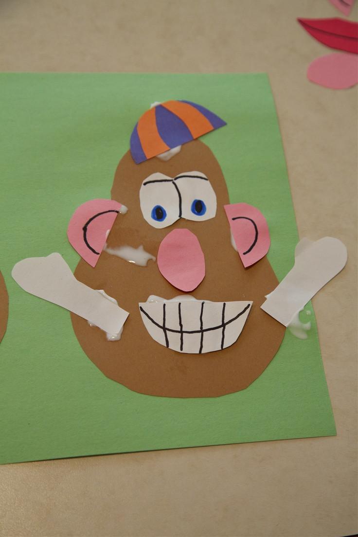 Preschool Projects Ideas  Toddler Craft Activity Mr Potato Head