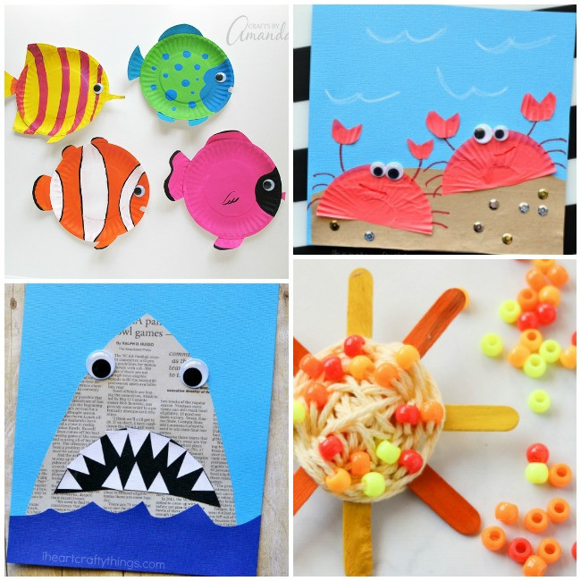 Preschool Summer Crafts Ideas  50 Epic Kid Summer Activities and Crafts