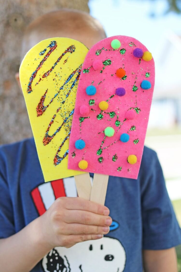 Preschool Summer Crafts Ideas  Easy Summer Kids Crafts That Anyone Can Make Happiness