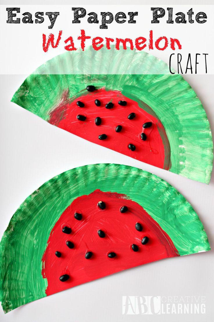 Preschool Summer Crafts Ideas  Best 25 Preschool summer crafts ideas on Pinterest