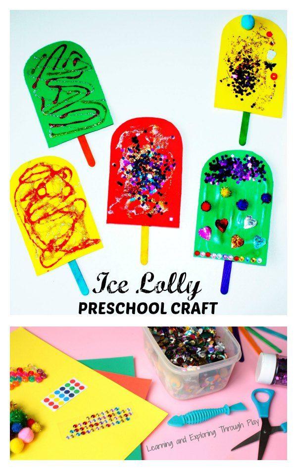 Preschool Summer Crafts Ideas  Best 20 Preschool summer theme ideas on Pinterest