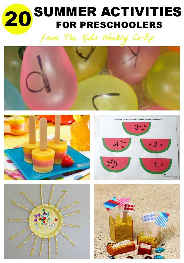 Preschool Summer Crafts Ideas  Summer Art Activities for Kids Mess for Less