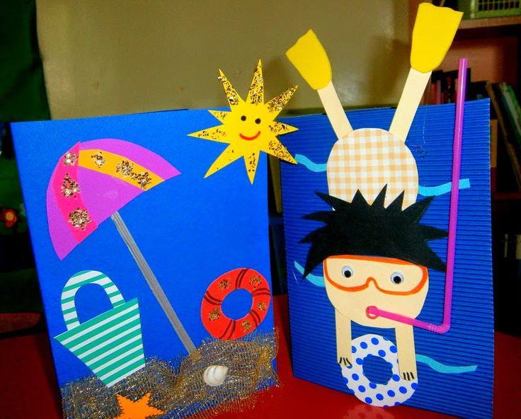 Preschool Summer Crafts Ideas  Summer craft