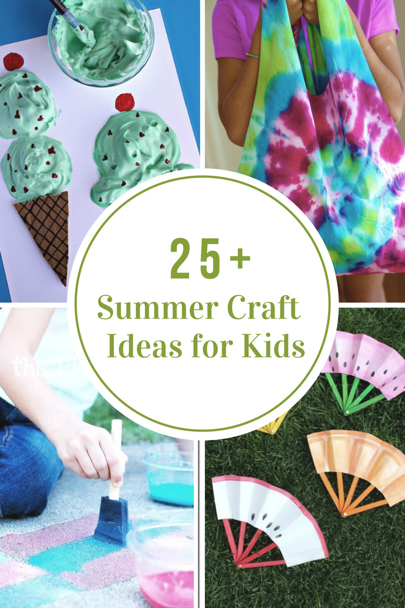 Preschool Summer Crafts Ideas  40 Creative Summer Crafts for Kids That Are Really Fun