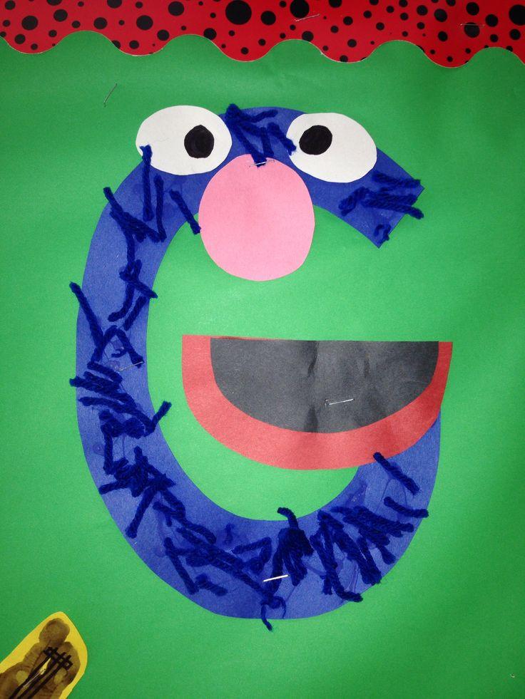 Preschoolers Craft Activities  Letter G Crafts Preschool and Kindergarten