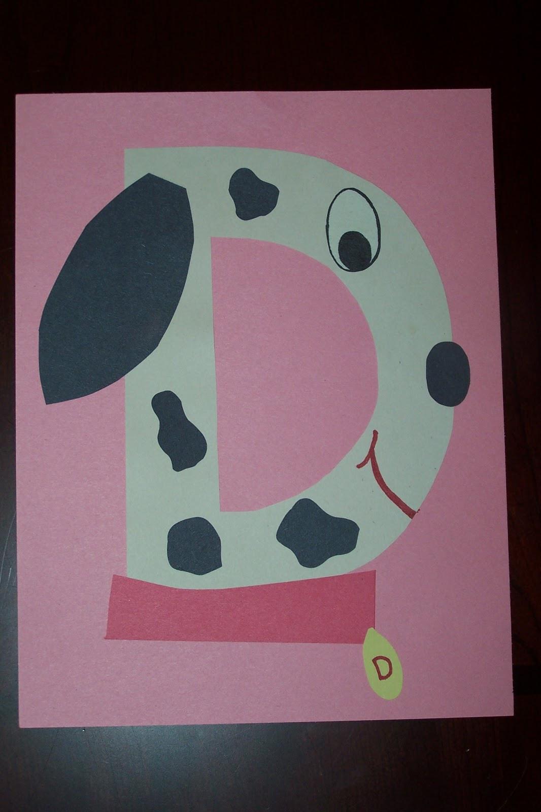 Preschoolers Craft Activities  Letter D Crafts for Preschool Preschool and Kindergarten