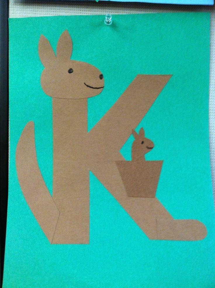 Preschoolers Craft Activities  The Lion is a Bookworm Storytime K is for Kangaroo