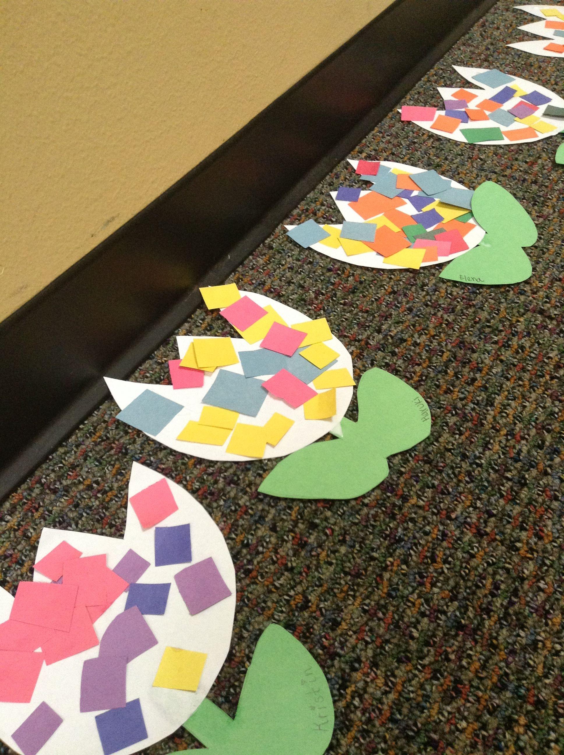 Preschoolers Craft Activities  Spring craft for toddlers