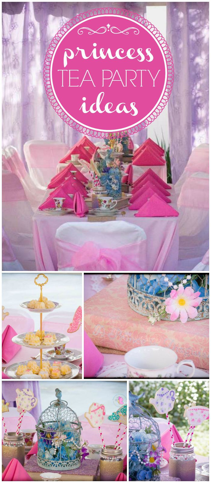 Princess Tea Party Birthday Ideas  Best 25 Princess tea party ideas on Pinterest