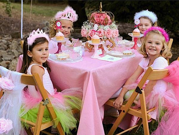 Princess Tea Party Birthday Ideas  Kara s Party Ideas Pink Princess Tea Party