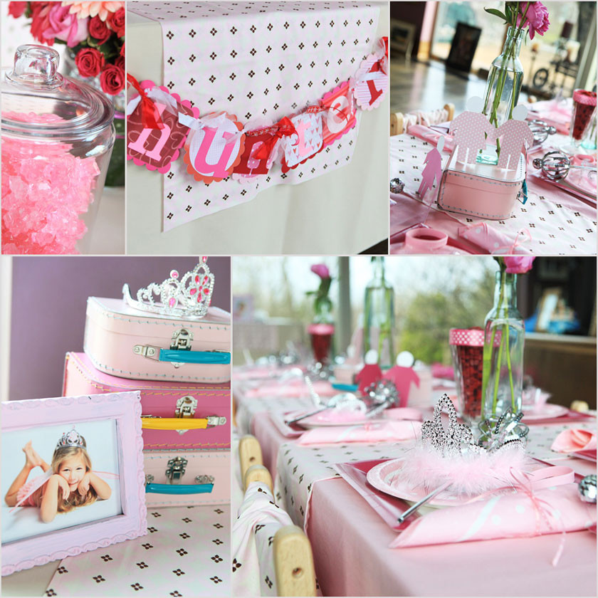Princess Tea Party Birthday Ideas  Daisy Pink Cupcake Princess Party