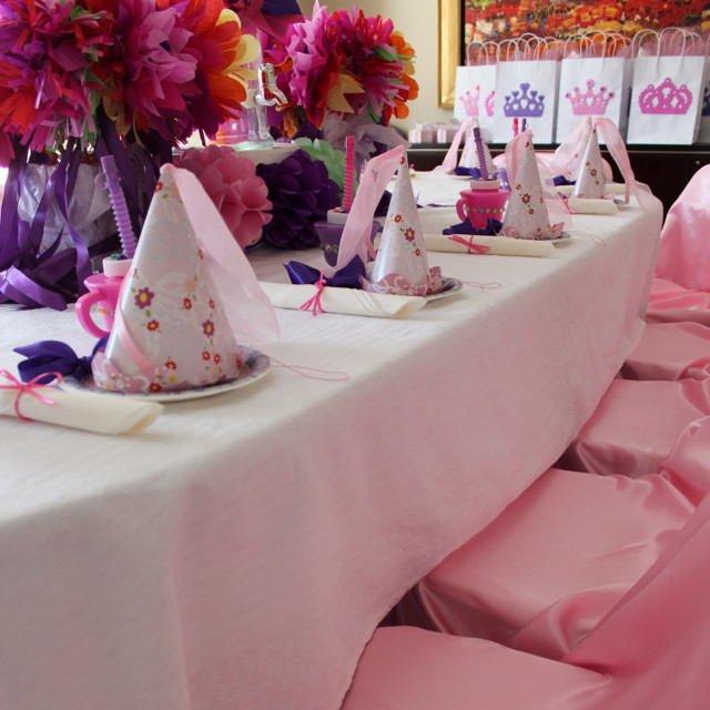 Princess Tea Party Birthday Ideas  Rachael Rabbit Princess Tea Party Ideas