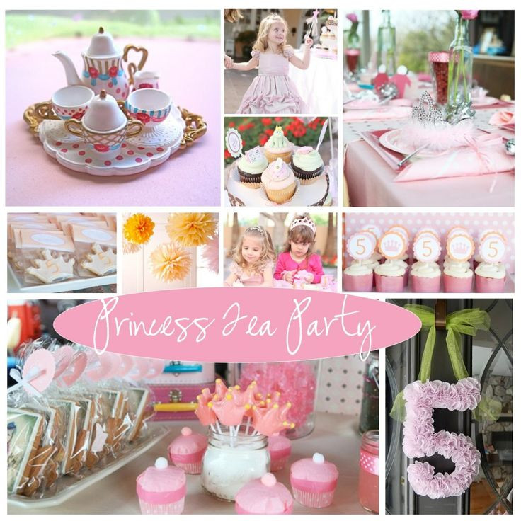 Princess Tea Party Birthday Ideas  29 best party ideas images on Pinterest