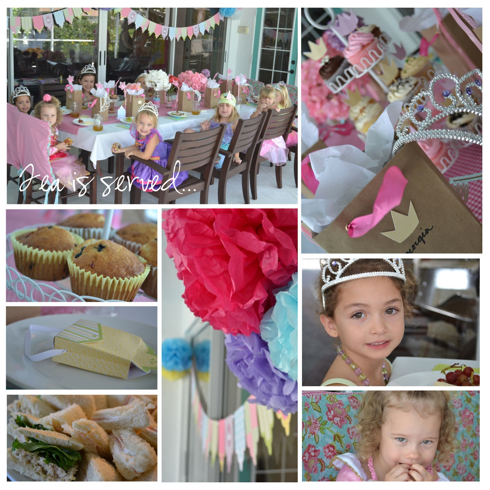 Princess Tea Party Birthday Ideas  A Princess Tea Party
