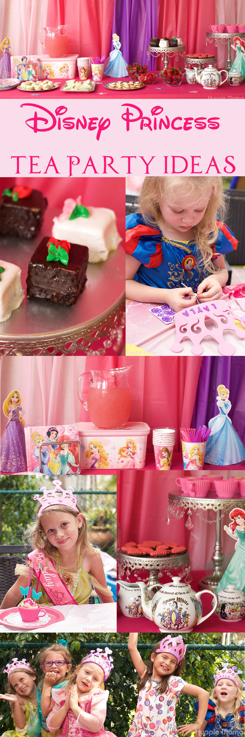 Princess Tea Party Birthday Ideas  Disney Princess Tea Party Ideas Our Potluck Family