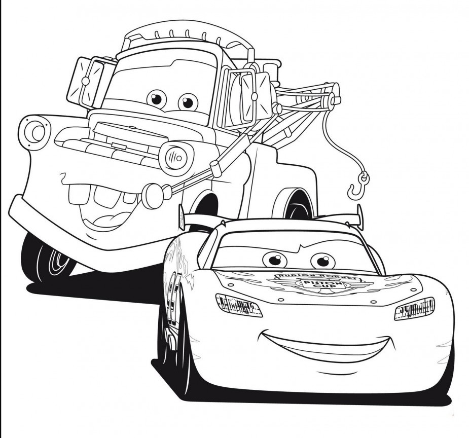 Printable Cars Coloring Pages  Cars Coloring Pages Best Coloring Pages For Kids