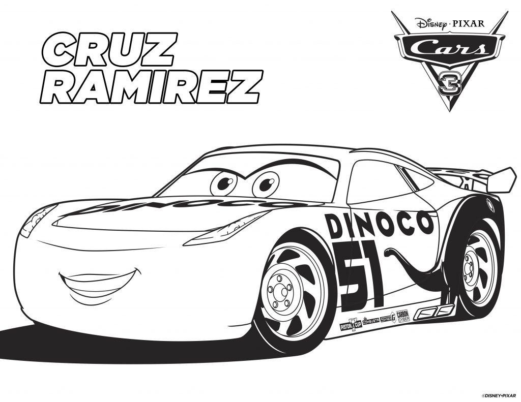 Printable Cars Coloring Pages  Free Printable Cars Coloring Pages and Bookmark Any Tots
